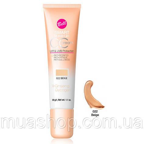 Тональный флюд CC Cream Smart №22 (Beige)30гр, фото 2