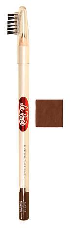 Карандаш для бровей №107 La Rosa (Шоколадно-Коричневый) LP100, фото 2