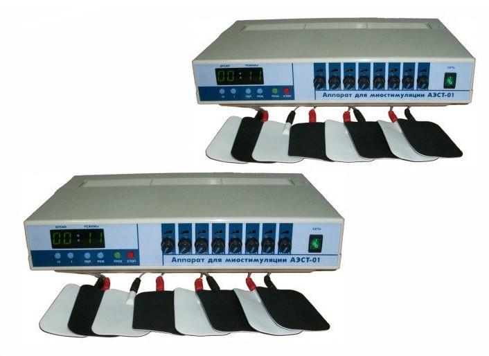 Апарат для міостимуляції АЕСТ-01-8 (вісім каналів)