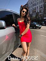 Женское стильное летнее платье-платье из бифлекса