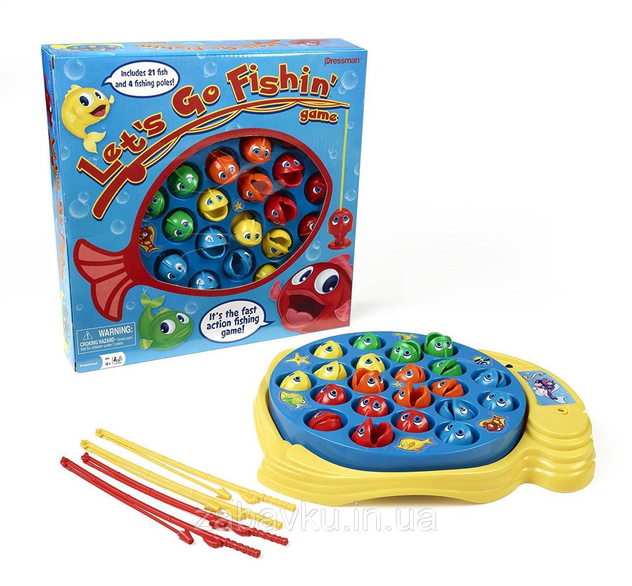 Настільна гра Рибалка Let´s Go Fishin´ Game