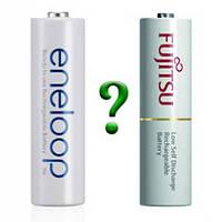 Сравнение аккумуляторов Fujitsu и Panasonic Eneloop
