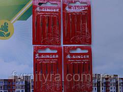 Голки для побутових швейних машин Singer універсальні