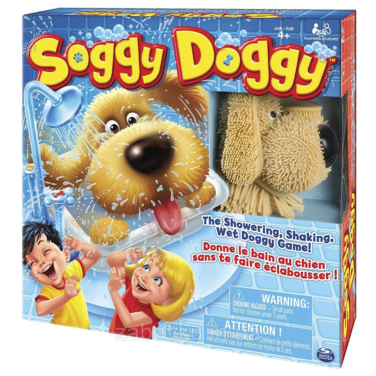 Мокрий песик настільна гра Soggy Doggy Board Game оригінал, Spin Master