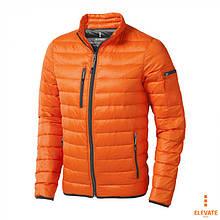 Куртка пуховик мужская Scotia тм Elevate, 80% пух + 20% перо \ es - 39305 Оранжевый