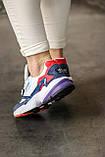 Женские кроссовки Adidas Falcon White/Blue/Red, фото 3