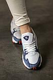 Женские кроссовки Adidas Falcon White/Blue/Red, фото 5