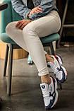 Женские кроссовки Adidas Falcon White/Blue/Red, фото 4