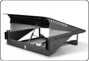 Доклевеллер (электрогидравлическая  уравнительная платформа) с поворотной аппарелью