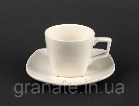 Набор Чашка с блюдцем 80 мл, фарфор 6 шт