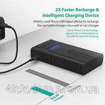 Внешний аккумулятор RavPower Car Jump Starter 10000mAh Black (RP-PB008), фото 3