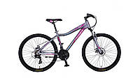 Велосипед сrosser sweet 26 дюймов серый