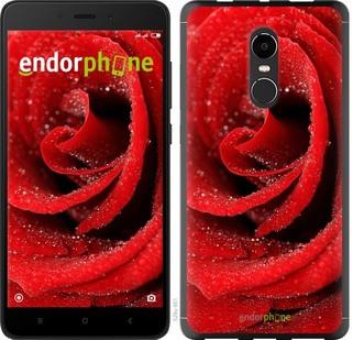 "Чехол на Xiaomi Redmi Note 4X Красная роза ""529c-951-571"""
