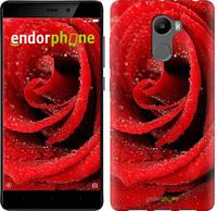 "Чехол на Xiaomi Redmi 4 Красная роза ""529c-417-571"""