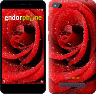 "Чехол на Xiaomi RedMi 4A Красная роза ""529c-631-571"""