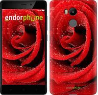 "Чехол на Xiaomi Redmi 4 pro Красная роза ""529c-438-571"""