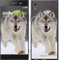 "Чехол на Sony Xperia XA1 Ultra Бегущий волк ""826u-1237-571"""