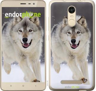 "Чехол на Xiaomi Redmi Note 3 pro Бегущий волк ""826c-335-571"""