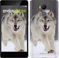 "Чехол на Xiaomi Redmi 4 pro Бегущий волк ""826c-438-571"""