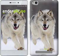 "Чехол на Xiaomi Redmi 3 Бегущий волк ""826c-97-571"""