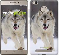 "Чехол на Xiaomi Redmi 3 Pro Бегущий волк ""826c-341-571"""
