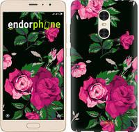 """Чехол на Xiaomi Redmi Pro Розы на черном фоне """"2239c-342-571"""""""