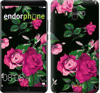 """Чехол на Huawei Mate 10 Розы на черном фоне """"2239u-1116-571"""""""