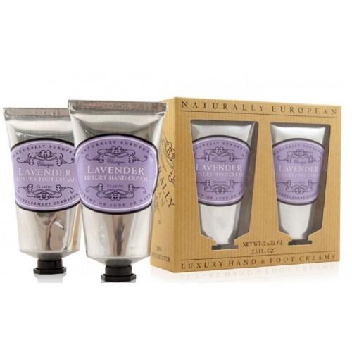 Набор кремов для рук и ног Лаванда Lavender Luxury Hand & Foot Collection The Somerset Toiletry Company