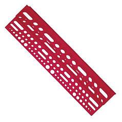 Полка с отверстиями под инструмент пластиковая 610*150*45мм