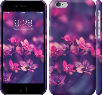 """Чехол на iPhone 8 Пурпурные цветы """"2719c-1031-328"""""""