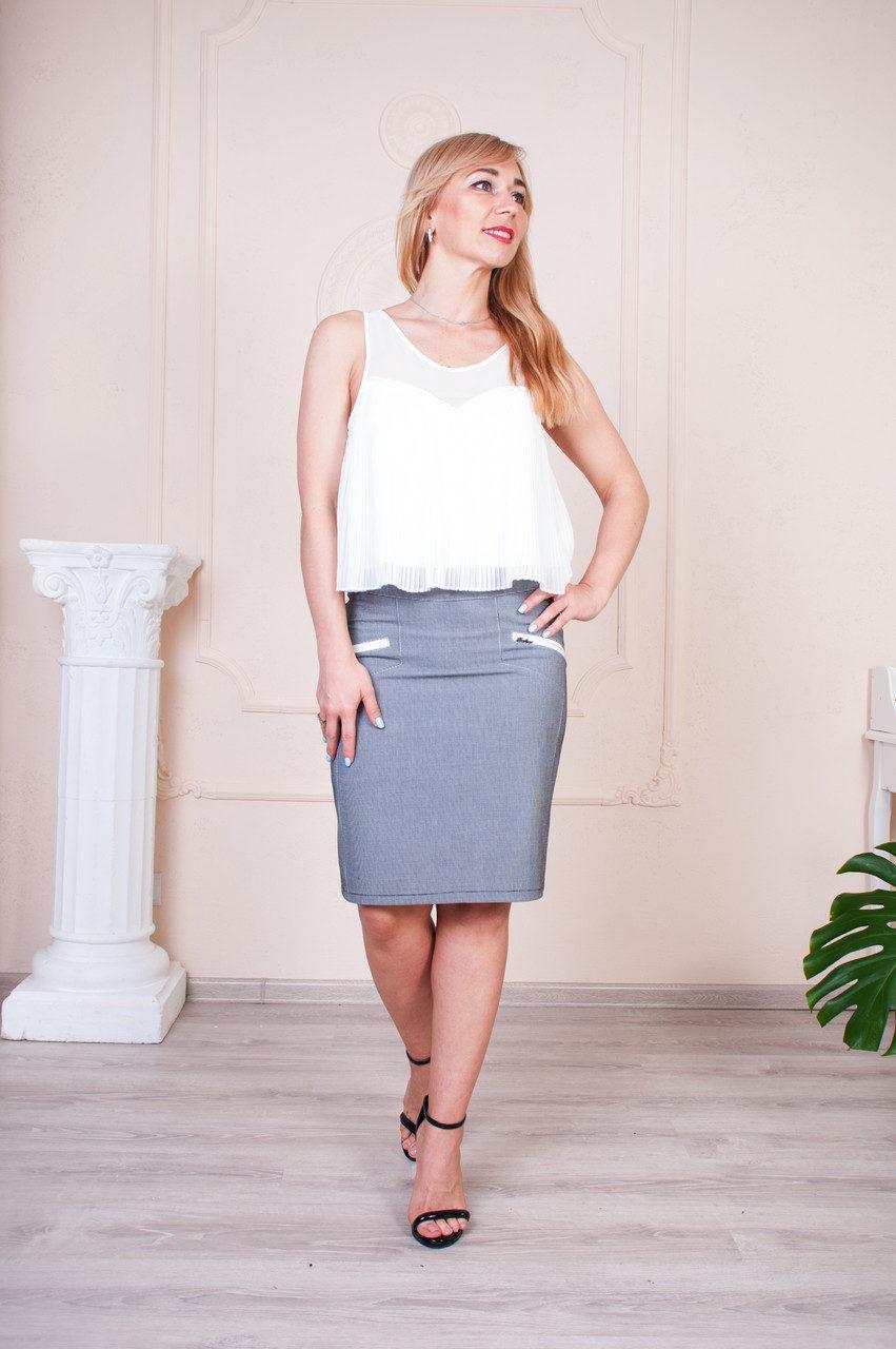 Женская юбка-карандаш на лето