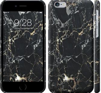 "Чехол на iPhone 8 Черный мрамор ""3846c-1031-328"""