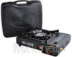 Портативная газовая плита с адаптером  WELL COOKER №66-3
