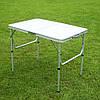 Стол складной + 2 стула в чемодане 900х600. Для пикника, кемпинга, рыбалки, сада., фото 2