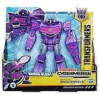 Робот-трансформер Шоквейв Кибервселенная - Shockwave Hasbro Cyberverse, Ultra Class, Shock Blast, фото 1