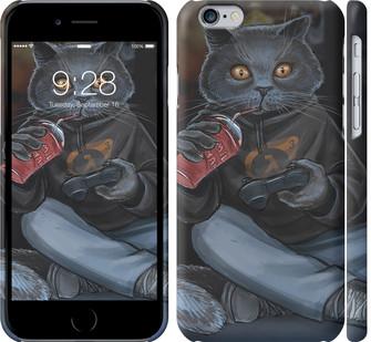 """Чехол на iPhone 8 gamer cat """"4140c-1031-328"""""""