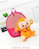 Рюкзак детский  игрушка возраст 1-3 года 2 цвета