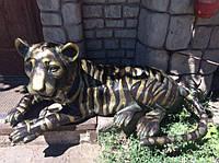 Скульптура ТИГР. БРОНЗА 55 кг