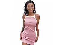 Облегающее женское платье Femme М Розовый
