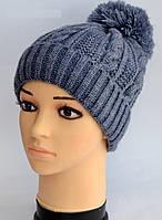 Молодежная шапка Arctic Венера для практичных женщин Стильная теплая красивая шапка Купить онлайн Код: КДН5310
