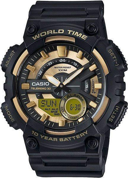 Наручные мужские часы Casio AEQ-110BW-9AVEF оригинал