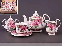 Чайный набор Lefard Летние розы на 15 предметов 436-001