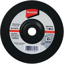 Зачисних диск по алюмінію Makita 115 мм (B-14560)
