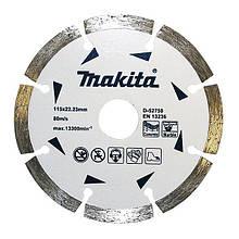 Алмазний диск 115 мм Makita (D-52750)