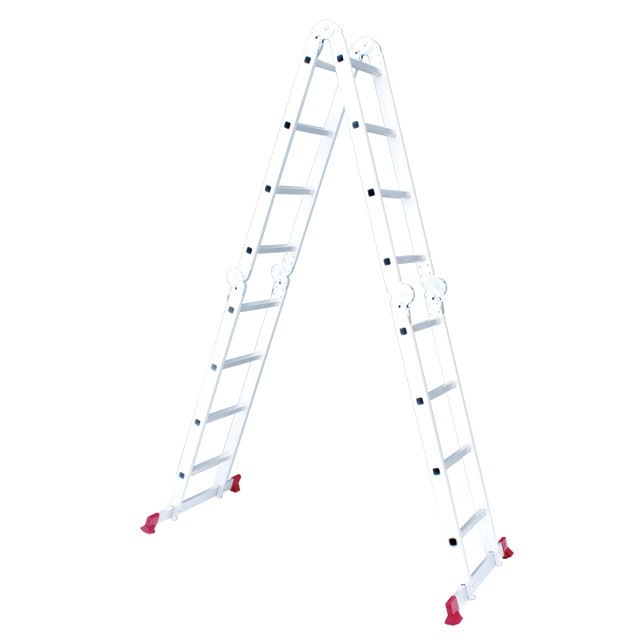 Лестница алюминиевая мультифункциональная трансформер 4*4ступ. 4.75м