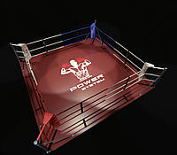 Боксерский ринг напольный, тренировочный 5х5 метра, ринг для бокса