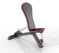 Профессиональная скамья, лавка с регулируемым углом наклона спинки