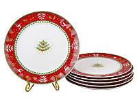 Набор тарелок Lefard Рождественская коллекция 26 см6 шт943-160