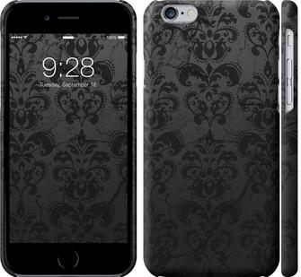 """Чехол на iPhone 8 узор черный """"1612c-1031-328"""""""