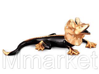 Статуэтка Lefard Ящерица 39 см фарфор 98-1196